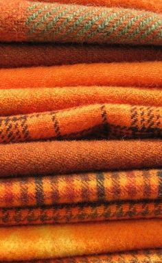 The use of orange and brown works very well together as a clean palette | The House of Beccaria  ---- pretty sure they had this figured out around 1968.