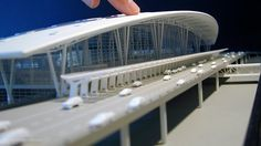 Indianapolis Int'l Airport : Model | Midwest Studios