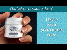 How to Apply Harmony Gelish Structure Gel - YouTube