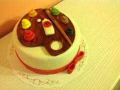 Festő paletta Cake, Desserts, Food, Party, Tailgate Desserts, Deserts, Kuchen, Essen, Postres