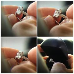 Jojo Fletcher's engagement ring. | Eiseman Jewels | Eiseman Bridal | Wedding Season | Engagements | Engagement ring | Diamonds