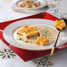 Eine festliche Suppe zu Weihnachten
