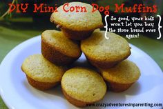 Easy and delicious mini corn dog muffin recipe (your kids won't want the store-bought stuff ever again!)