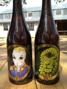 Le Petit Prince and Noble King Hoppy Farmhouse Ale now available in bottles!