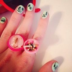 These rings are pretty awesomeee