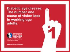 November is National Diabetes Month. Share this pin to help us raise awareness about diabetic eye disease. Types Of Diabetes, Diabetic Eye Disease, Eye Facts, Laser Eye Surgery, Diabetic Retinopathy, Diabetes Information, Eyes Problems, Tips, Messages