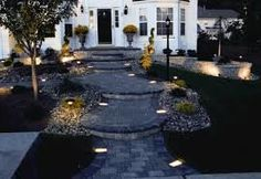 Love to decor your walkway or pathways? Here are beautiful walkway lights that will surely enhance your walkway design. Outdoor Path Lighting, Outdoor Walkway, Backyard Lighting, Lighting Ideas, Exterior Lighting, Gravel Walkway, Brick Pathway, Solar Licht, Landscape Lighting Design