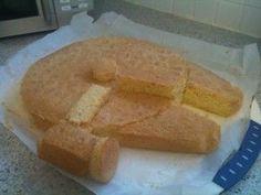 how to make a Millenium Falcon Cake