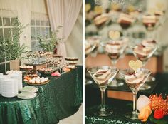 Stunning dessert table decor idea.❤️There is that heart again inserted into the dessert giving it a special touch.❤️