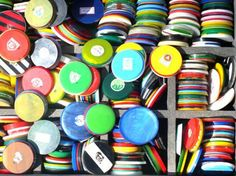 "Button's soccer  Or is it Soccer Buttons?  In Portuguese it is ""Futebol de botão"""