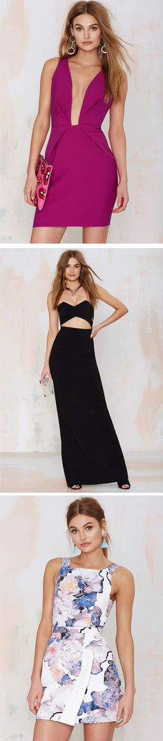 Forget boring bridesmaid dresses and knee-grazing silhouettes. This season, we've got all the sexy little numbers you need for that wedding thing you're going to.