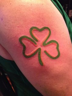 Beautiful Ideas for Clover and Shamrock Tattoos