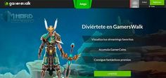 Gamerswalk es una plataforma de streaming de eSport interactiva fundada en A Coruña (España) la cual reabre de forma oficial tras el cierre de su fase beta.