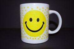 Smiles all around. Have a Nice Day coffee mug