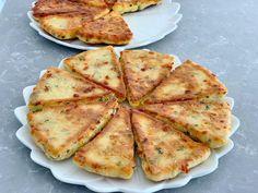 TAVADA PRATİK KAHVALTI BÖREĞİ Dominican Food, Brunch, Pizza, Cheese, Ethnic Recipes, Crocheted Bags, Antalya, Kitchens, Turkish Recipes