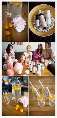 Chic Bridal Shower Themes the Bride Will Love - Wedding Party. I would love the Strawberry Shortcake or Spa Party