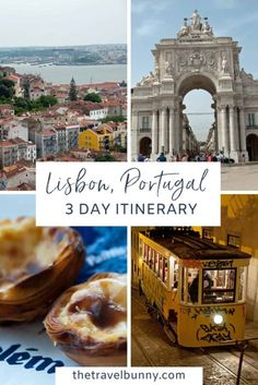 Lisbon 3 day Itinerary. If you're planning to spend 3 days in Lisbon, Portugal this itinerary and guide will help you explore the city like a local and get the most out of your Lisbon citybreak. From what to see and do, how to save money on your trip, where to stay and where to eat. #Lisbon #itinerary