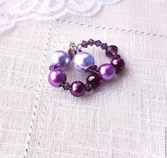 Купить Серьги Бесконечность фиолетовые, круглые, маленькие - фиолетовый, светло-фиолетовый, тёмно-фиолетовый, сиреневый