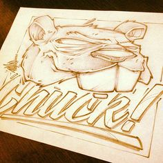 LUNCH SCRIBBLES 3 by Craig Patterson - Absorb81, via Behance: