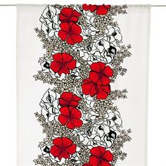 Elle curtain - red - Vallila Interior