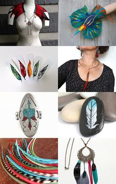 graphic birds by dominique sampaio on Etsy--Pinned with TreasuryPin.com