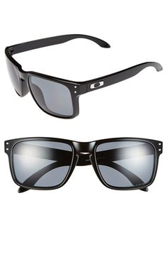 47adea49e8 Oakley 'Holbrook' 55mm Polarized Sunglasses Gucci, Burberry, Polarized  Sunglasses, Ray Ban