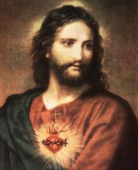 Solemnity of Sacred Heart of Jesus.   O Sacred Heart of Jesus, I place my trust in You.  O Sacred Heart of Jesus, I believe in your love for me.