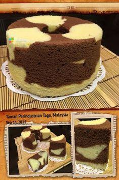 Banana Chiffon Cake Recipe, Chiffon Recipe, Chocolate Chiffon Cake, Chocolate Cake, Marble Cake Recipes, Sponge Cake Recipes, Cupcake Recipes, Cupcake Cakes, Bundt Cakes