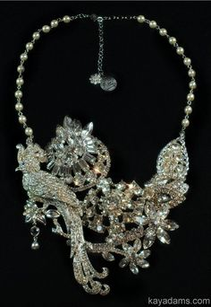 Vintage Wedding Necklace. Paradise Found. Payment for a Kay Adams Custom Bridal Rhinestone Wedding Necklace.