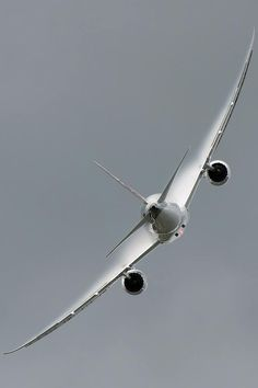 Boeing 787-8 Dreamliner. I built the APUs (Auxiliary Power Unit) for them. Proud? Oh, yes, very.