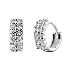 2014 sterling silver s925 hot korean style earrings starry aaa grade quality stud earrings