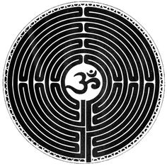 Om Labreth Circle. Om is the signifier of the ultimate truth that all is one.