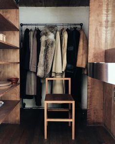 Colin King Instagram: Judd Foundation Bedroom Styles, Wardrobe Rack, Bedroom Decor, King, Interior, Closet, Inspiration, Furniture, Instagram