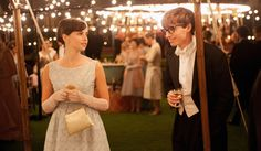 """LOVE AND SCIENCE The challenging but rewarding relationship between Stephen Hawking (Eddie Redmayne) and Jane (Felicity Jones) Hawking plays a central role in the new film, """"The Theory of Everything. Movies 2014, New Movies, Movies To Watch, Good Movies, Stephen Hawking, Into The Wild, Best Picture Nominees, Bon Film, 12 Years A Slave"""