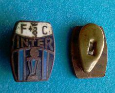 Rarissimo distintivo spilla pin badge F.C. Inter 1965 - serie a botticella
