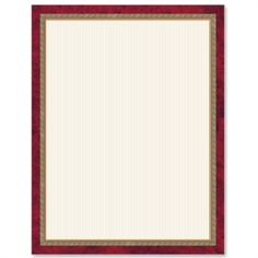 Formal Party PaperFrames Custom Border Papers | PaperDirect