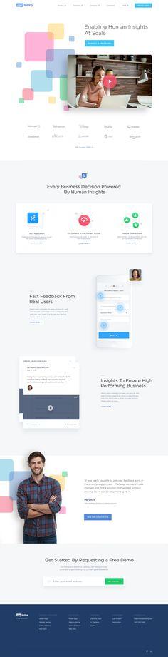 UserTesting.com Home Page