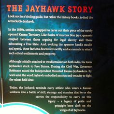 Story of the Jayhawk...