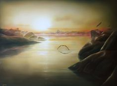 Aoraki's Dawn - NZ Artist Sofia Minson
