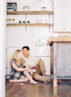 22 Cozy Engagement Pics That Will Make You Feel Right At Home | HuffPost