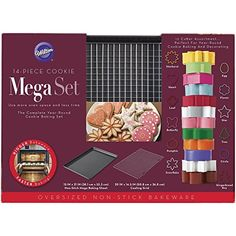 Wilton 14piece Cookie Mega Set * Find out more about the great product at the image link.(This is an Amazon affiliate link and I receive a commission for the sales)