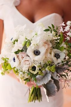 bouquet, shabby chic, romantic , black, blossoms, blush, bouquets, colors, floral, flowers, french, pink, white, wedding, chic, wed