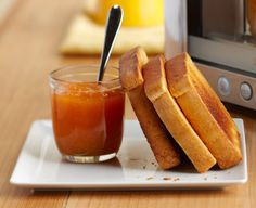all I want is buttered toast. smothered in butter. i am dying a slow death of want. oh gluten, come back to me. A Food, Good Food, Yummy Food, Toast Toppers, Coffee Geek, Bread Toast, Cooking Equipment, The Breakfast Club, Recipe Of The Day