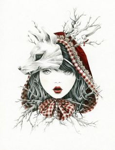 Courtney Brims, Red Riding Hood - Cappuccetto Rosso