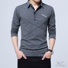 Cheap brand t shirt men, Buy Quality t shirt men directly from China t shirt men brand Suppliers: TFETTERS Brand T Shirt Men Long T-shirt Turn-down Stripe Designer T-shirt Slim Fit Loose Casual Cotton T Shirt Male Plus Size T Shirt Polo, Polo Shirt Brands, Shirt Men, Men's Polo, Sweat Shirt, Tee Shirts, Men's Long Sleeve Polos, Spring Shirts, Branded T Shirts