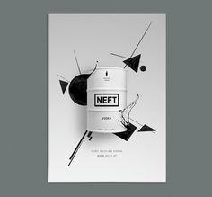 NEFT Vodka  © Seite Zwei - Bureau für Design  www.seitezwei.com