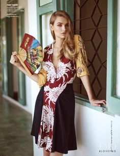 Somewhere Only We Know in Vogue Thailand