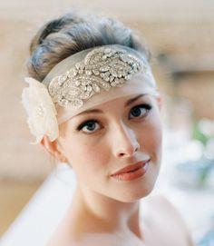 Marguerite Headpiece/ Sash