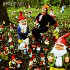 @Becky Smith - At least I'm not a Gnome Lady! Haha