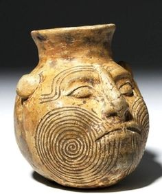 Sculpture Head, Pottery Sculpture, Ancient Mysteries, Ancient Artifacts, Native American Artifacts, Tikal, Mesoamerican, High Art, Antiquities